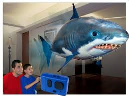 Air Swimmers Remote Control Inflatable Flying Shark