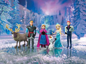 Frozen Complete Story Playset